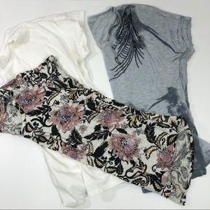 Tops - Pure Jill, LOFT, and Calvin Klein Tee Size M